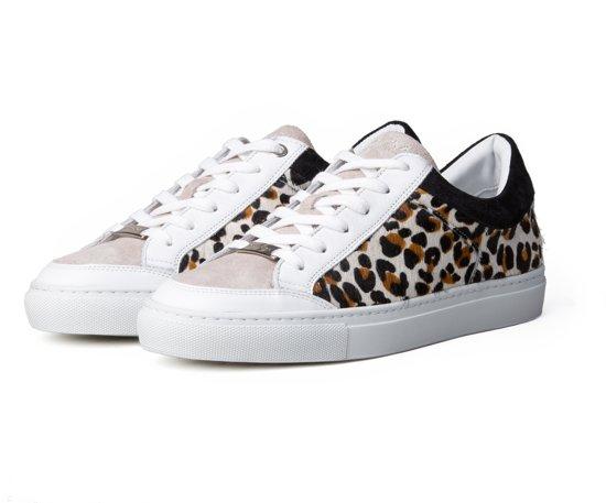 f30a8e3e560 bol.com   ALEX 1.1A Leopard - Sneakers Dames - Panterprint Zwart Wit ...
