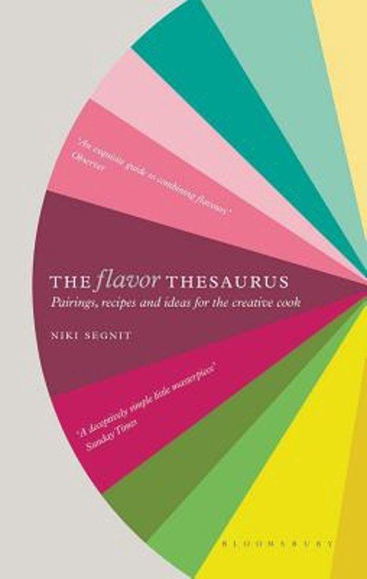 Boek cover The Flavor Thesaurus van Niki Segnit (Hardcover)