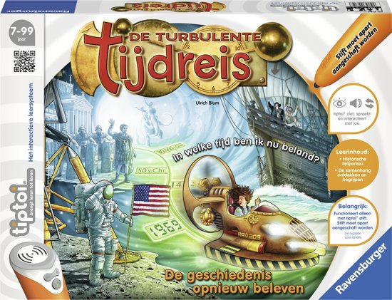 tiptoi® spel De turbulente tijdreis
