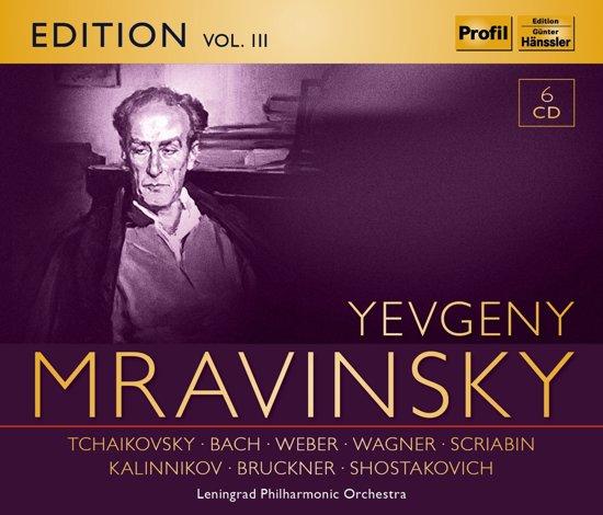 Yevgeny Mravinsky Edition Vol. Iii