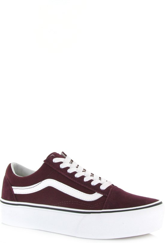 Sneakers White Platform true Port Vans 5 Royale 38 Unisex Skool Maat Old w1ESqt8