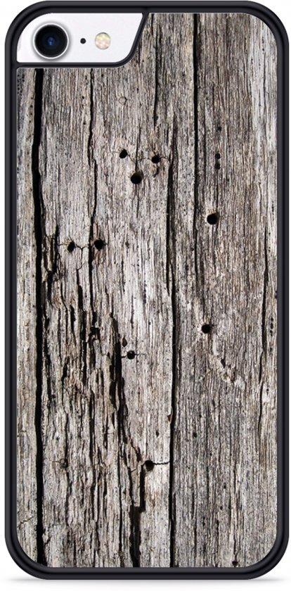 iPhone 7 Hardcase hoesje Oud hout