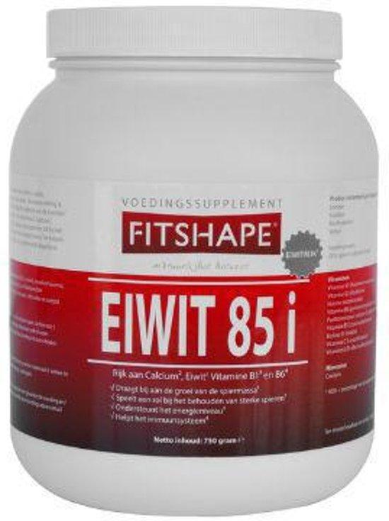 Fitshape Eiwit 85% Vanille - 750 gram - Eiwitshake