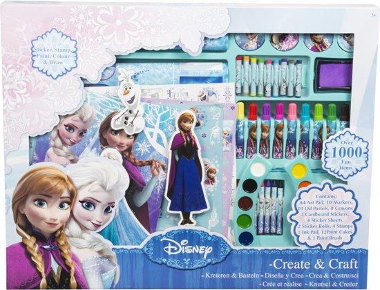 Frozen Slaapkamer Artikelen : Bol.com frozen knutselset sambro speelgoed