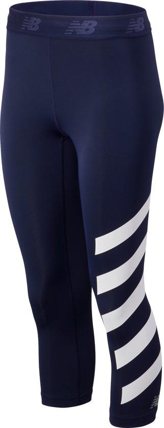New Balance PRINTED ACCELERATE CAPRI Dames Sportbroek - PIGMNTWT - S