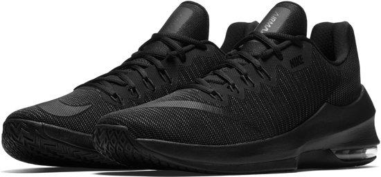 more photos dae1c a00cc Nike Air Max Infuriate 2 Low Basketbalschoenen - Maat 45 - Mannen - zwart