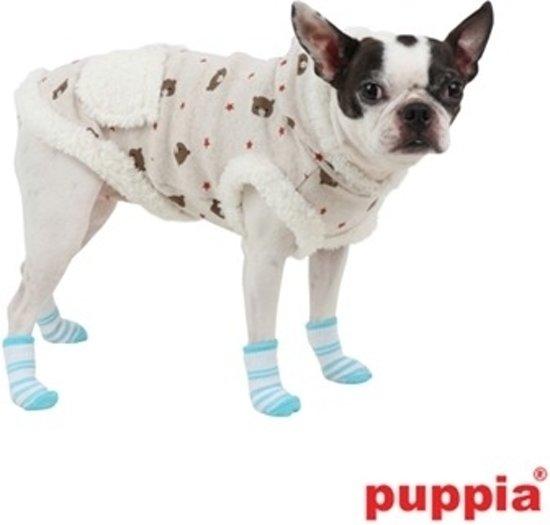 Puppia Hondensokjes Dolce Blue, Maat S