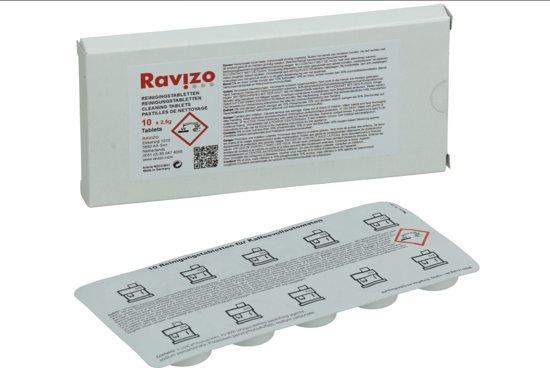 Ravizo Reinigingstabletten koffiezetapparaat, Nespresso, Dolce Gusto, Saeco, 10 stuks