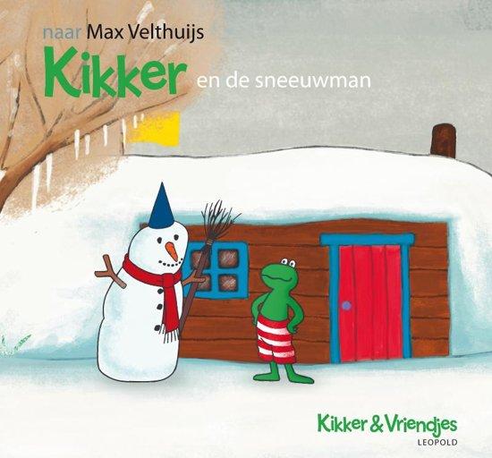 Boek cover Kikker - Kikker en de sneeuwman van Max Velthuijs (Hardcover)
