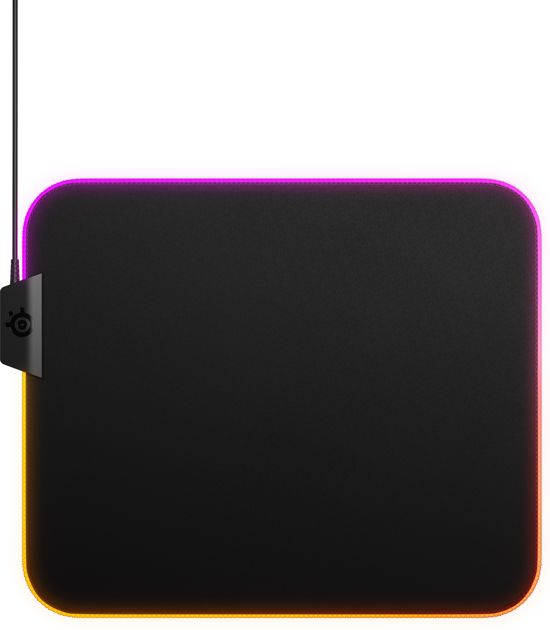 SteelSeries QcK Prism Cloth - Gaming Muismat - Medium