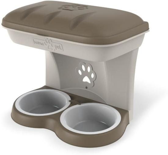 Hondenbak wandmodel Bama Medium Taupe
