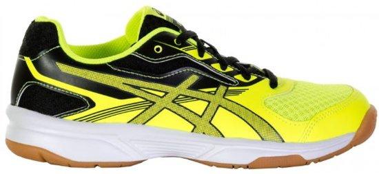 2ac83722452 Asics Upcourt 2 (GS) indoorschoenen Junior Sportschoenen - Maat 37 - Unisex  - geel