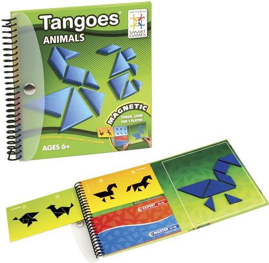 Thumbnail van een extra afbeelding van het spel Magnetic Travel Tangoes - Animals