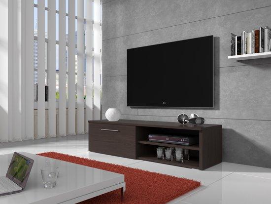 Meubella - TV-meubel Bash - Wenge - 120 cm