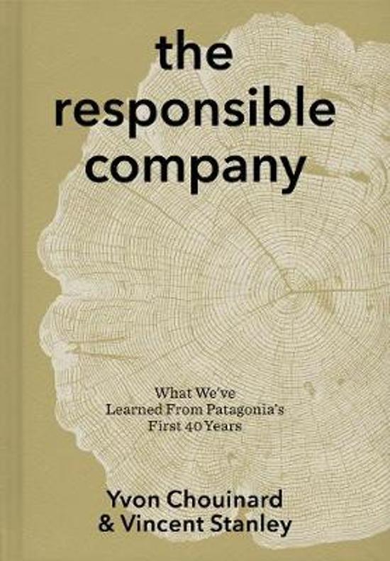 Boek cover The Responsible Company van Yvon Chouinard (Paperback)