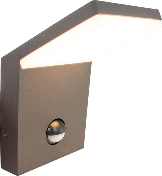 Trio PEARL - wandlamp - SMD - LED geïntegreerd - antraciet Bewegingssensor
