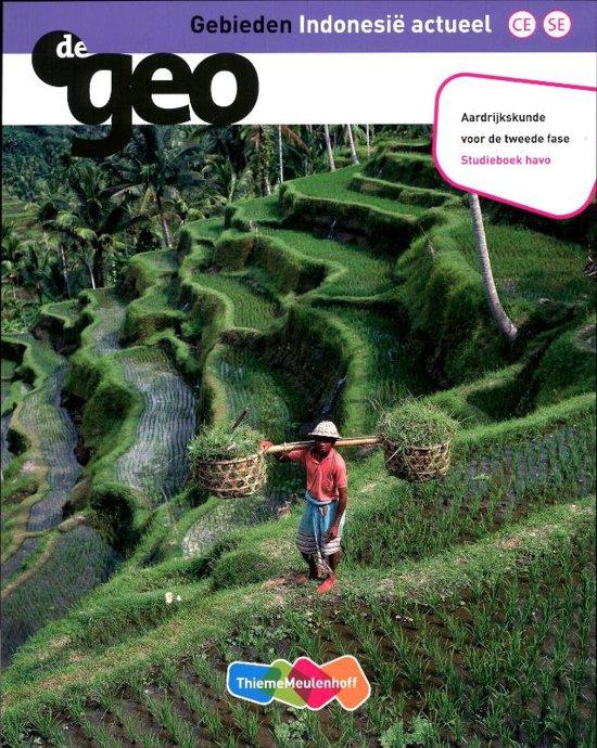 De Geo Gebieden Indonesie actueel Havo tweede fase deel Studieboek
