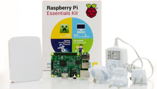 Raspberry Pi 3 Essentials Kit
