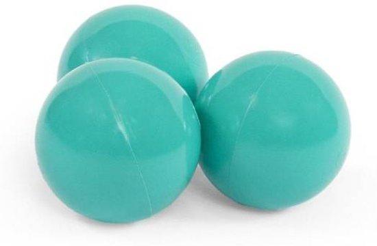 Misioo Extra set ballen, 50 stuks | Turquoise