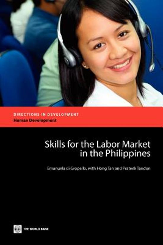 Skills for the Labor Market in the Philippines