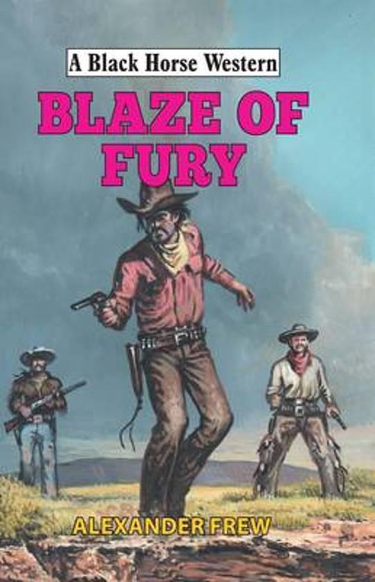Boek cover Blaze of Fury van Alexander Frew (Hardcover)