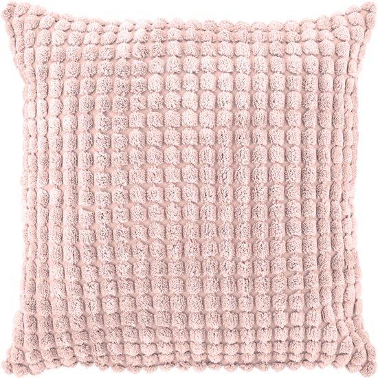 bolcom dutch decor sierkussen rome 45x45 cm roze
