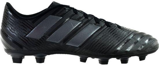 adidas Nemeziz 17.4 FxG Voetbalschoenen Heren - Cblack/Utiblk/Cblack - Maat 42 2/3