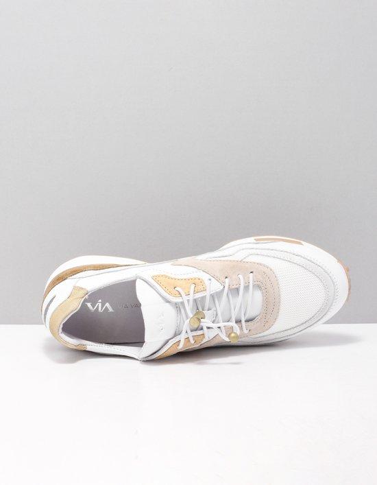 Via Vai Dames Sneakers Giulia - Wit