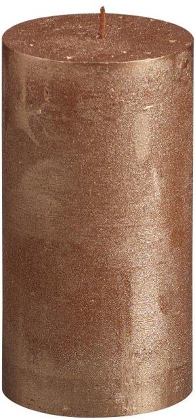 Bolsius Stompkaars Stompkaars 130/68 rustiek metallic Koper
