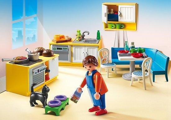 Playmobil Keuken 9269 : Bol playmobil dolhouse keuken met zithoek playmobil