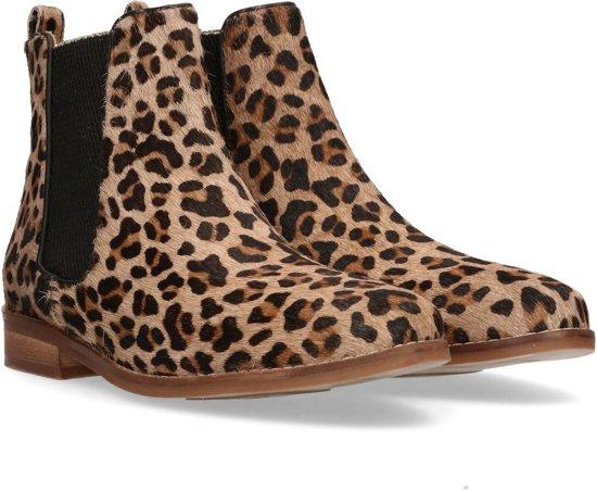 Maruti Dames Laarzen Passoa Leopard Elephant Grey Black - Grijs - maat 39