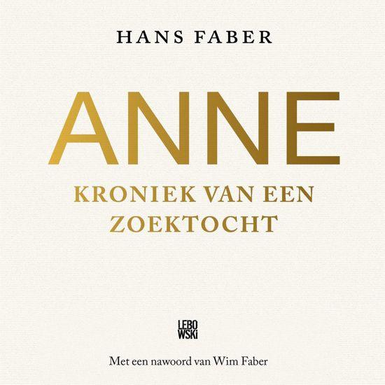 Boek cover Anne van Onbekend (Onbekend)
