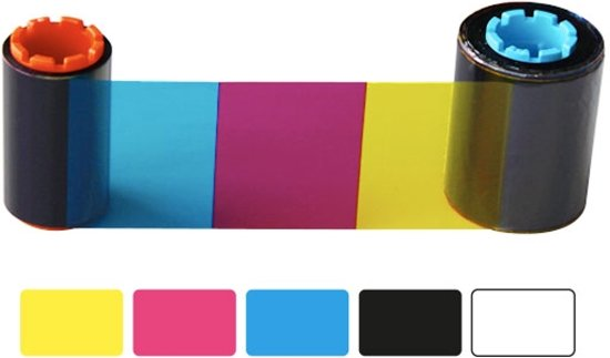Hiti CS200 Printlint YMCKO Halfpanel