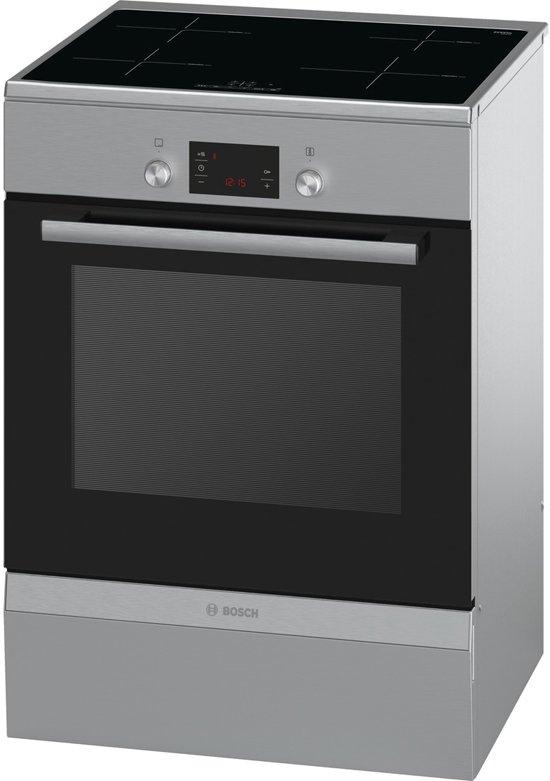 bosch hca748450 serie 6 fornuis met inductie kookplaat rvs. Black Bedroom Furniture Sets. Home Design Ideas