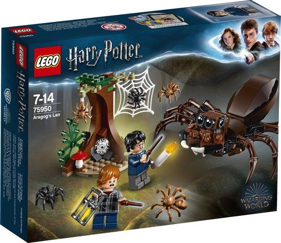 Afbeelding van LEGO Harry Potter Aragogs Schuilplaats - 75950 speelgoed