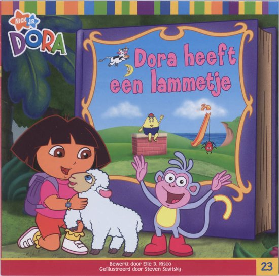 Boek cover Dora Dora heeft een lammetje van  (Onbekend)