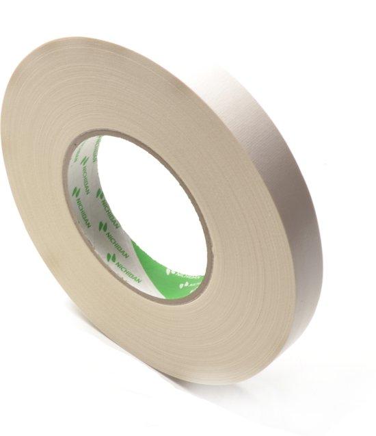Nichiban   -  duct tape    -  19 mm x 50 m   -  Wit
