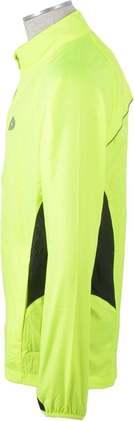 Donnay Hardloopjas - Running Jacket - Heren - Maat L - Fluo geel
