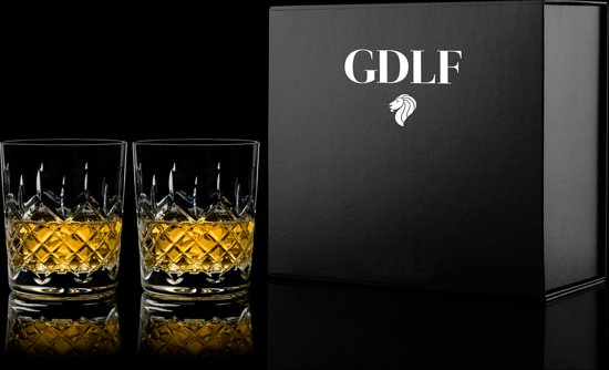 Handgemaakte Kristallen Whisky Glazen Royal In Giftbox By Gdlf