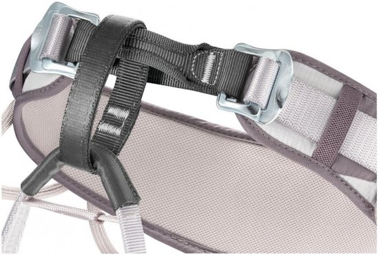 Petzl Corax comfortabele en universele klimgordel Denim Blauw - maat 1