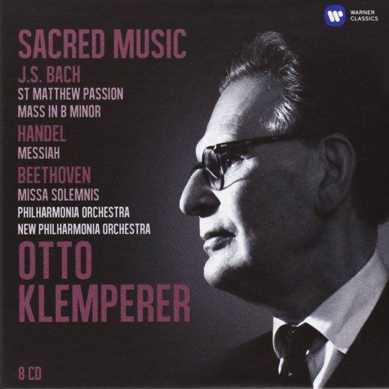 The Klemperer Legacy  Sacred W