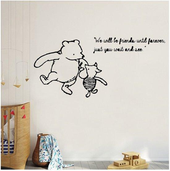 Muursticker Winnie The Pooh.Bol Com Muursticker Winnie The Pooh En Piglet