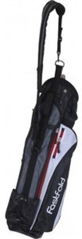 FastFold - Sunday bag - zwart/wit/rood