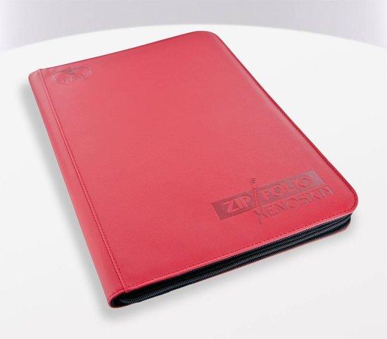 Afbeelding van het spel Ultimate Guard 9-Pocket ZipFolio XenoSkin Red