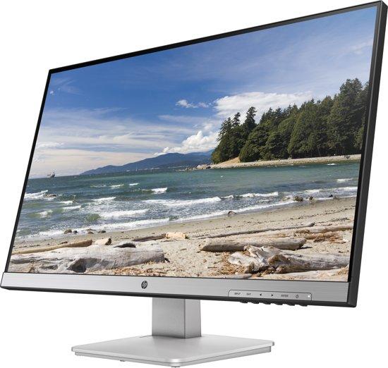HP 27q computer monitor 68,6 cm (27'') Quad HD LED Flat Mat Zwart, Zilver