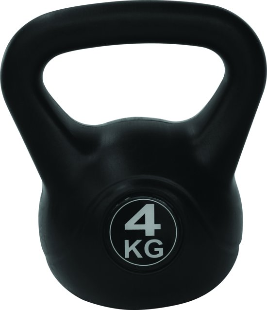 Tunturi PVC Kettle Bell - Kettlebell - 4 kg