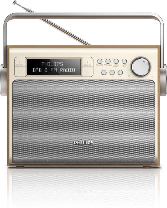 Philips AE5020 - Draagbare DAB+ radio - Zilver/Goud
