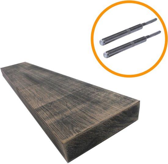 Blinde Bevestiging Plank.Steigerhoutpassie Blinde Plankdrager Set Blinde Bevestiging Geschaafd