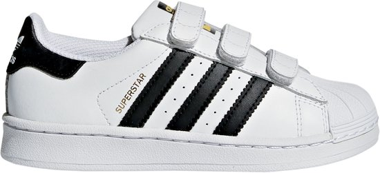 Adidas Jongens Sneakers Superstar Foundation - Wit - Maat 28