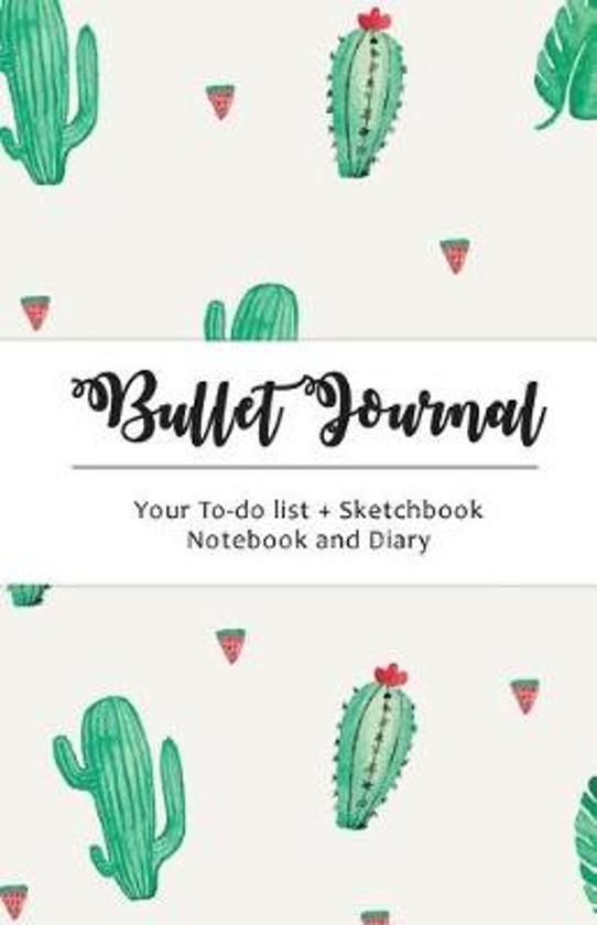 Cactus Bullet Journal